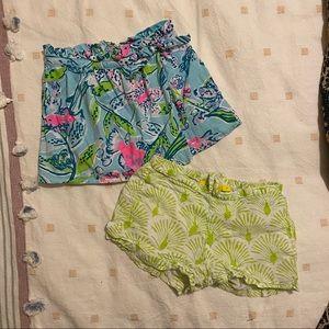 Lilly Pulitzer Skort Roberta Rollerrabbit Shorts